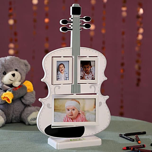 Personalised Guitar Photo Frame