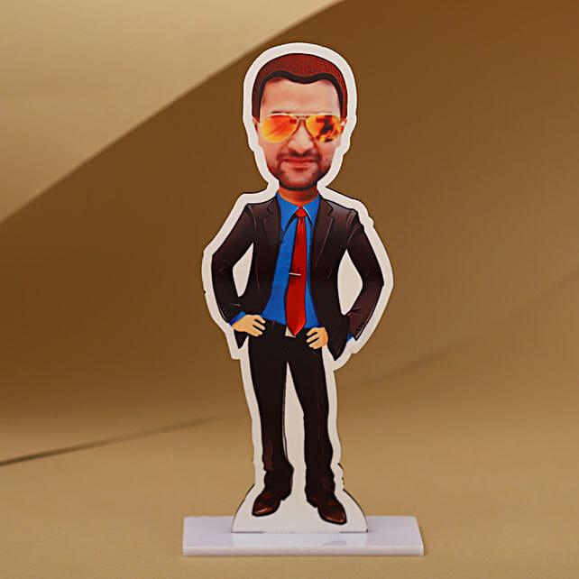 Online Personalised Man Caricature