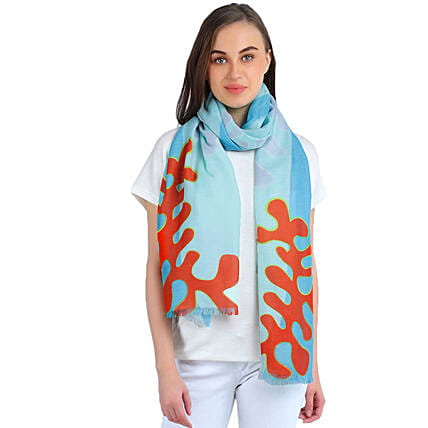 modal cashmere scarf for her online