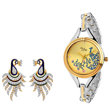 watch & earring  online