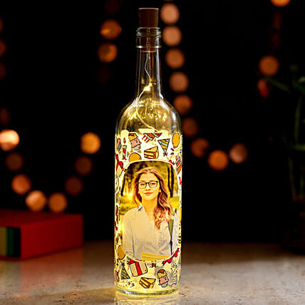 Online Picture LED Bottle Lamp