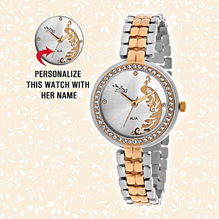 Valentine's Day Personalised Wrist Watch