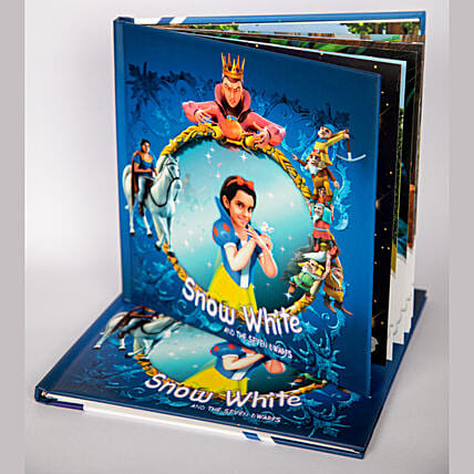 online kids favourite personalized snow white e book