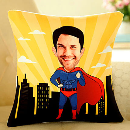 caricature cushion for him online