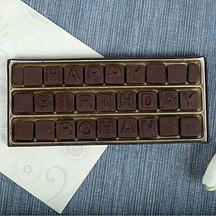 Personalised Chocolates chocolates