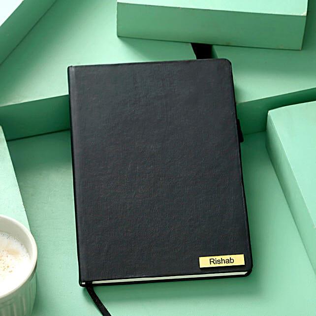 Custom Black Diary Online