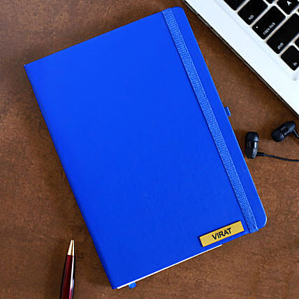 Buy Blue Custom Diary