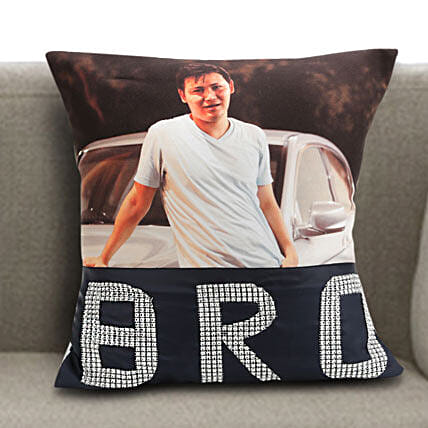 Personalized cushion for bro