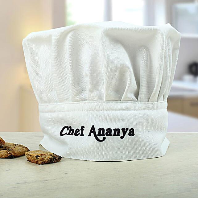 Personalized chef cap