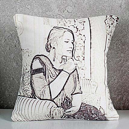 Sketch Cushion Online