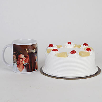 Mothers' Day Pineapple Cake and Mug Combo