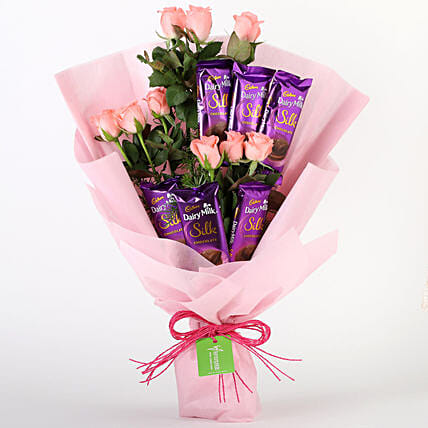 Mixed Roses and Chocolate Online