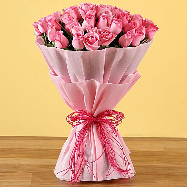 Exclusive Pink Flower Bouquet