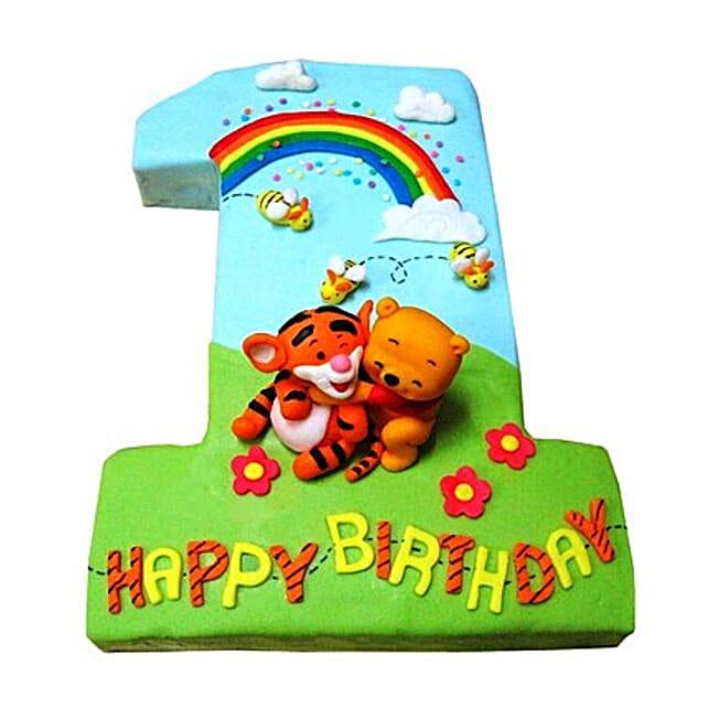 Pooh Tigger Cake 2kg