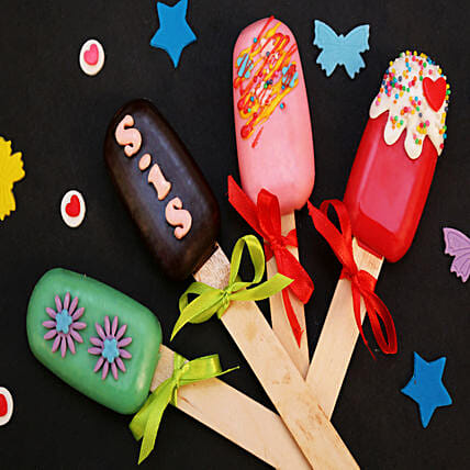unique cakesicles for sis