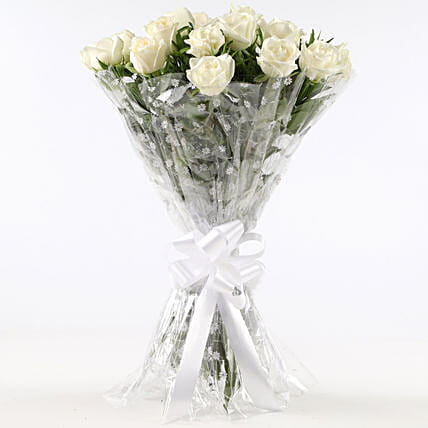 Online White Rose Bouquet