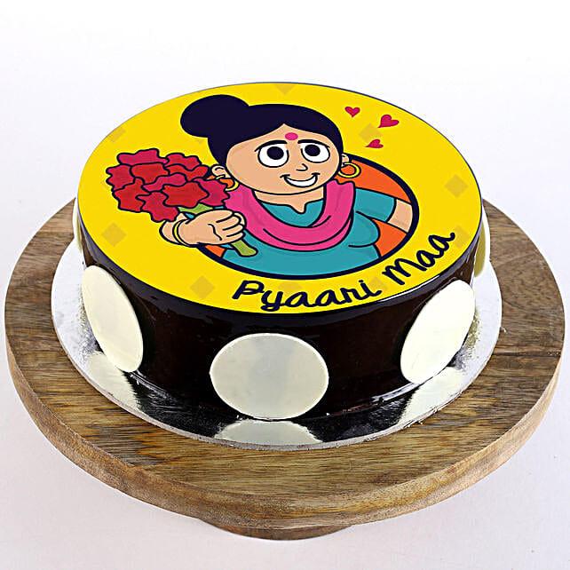 Best customised cake for mom