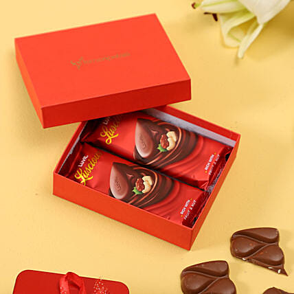 luvlt chocolate in red box for friend