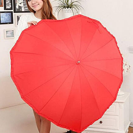 online heart shape umbrella