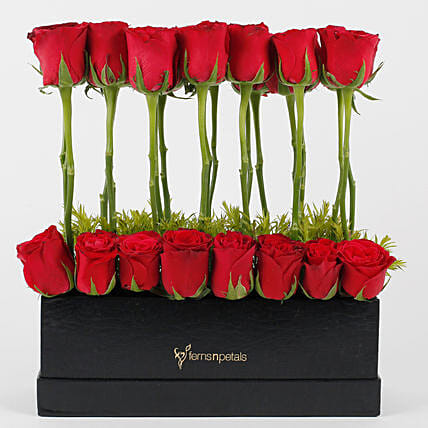 Lovely Red Roses Arrangement