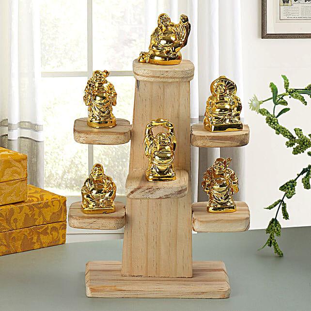 Resin Buddha set