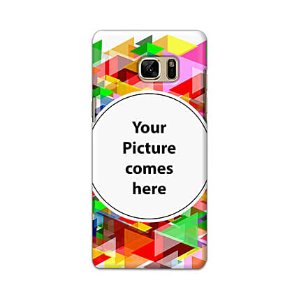 Samsung Galaxy Note 7 Multicolor Personalised Phone Cover