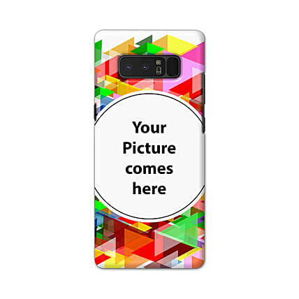 Samsung Galaxy Note 8 Multicolor Personalised Phone Cover