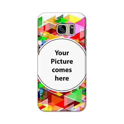 Samsung Galaxy S7 Multicolor Personalised Phone Cover