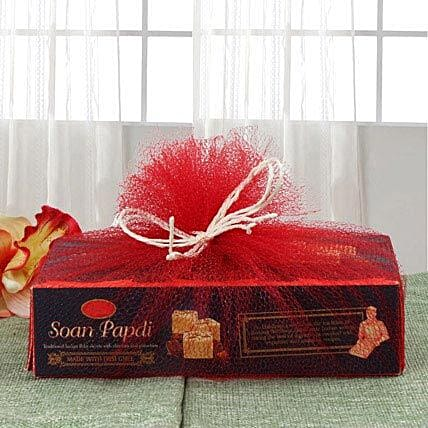 Box of soan papdi