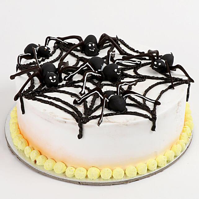 Creepy Halloween Cakes
