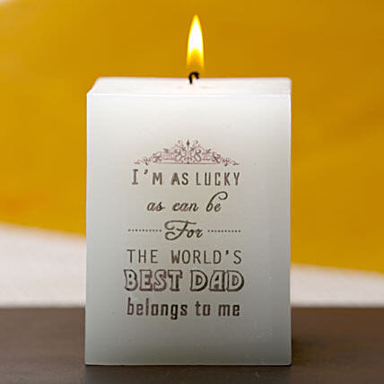 Best dad candle
