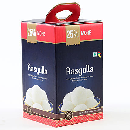 Tin of rasgulla sweets