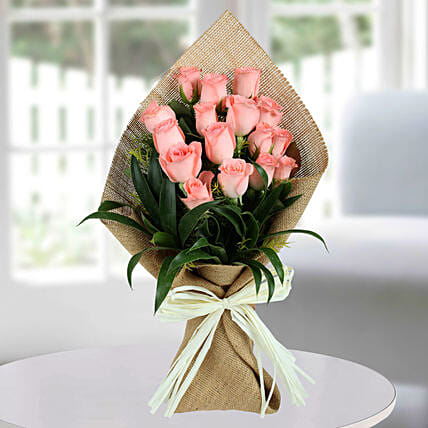 Pink Rose Flower Bunches