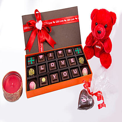 Chocolates with Teddy online