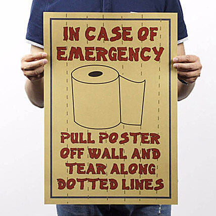Toilet Paper Posters Online