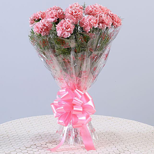 Online Pink Flower Bouquet