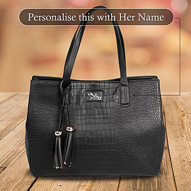 Black Handbag for Ladies Online