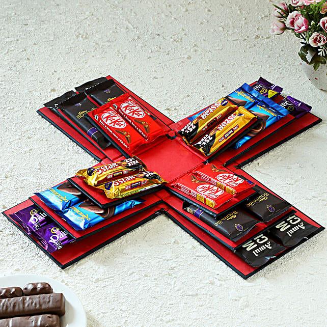 online explosion of chocolates box