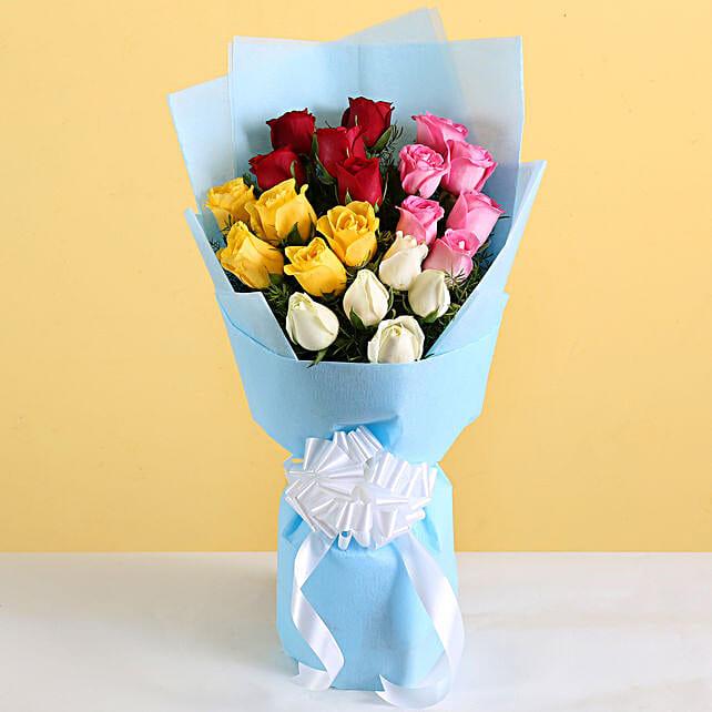 Multicolour Flower Bouquet For Her
