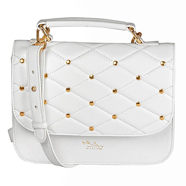 White Classy Sling Bag