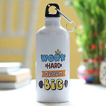 Personalised Motivation Quote Bottle